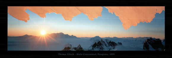Hielo Continental, 1999 by Thomas Ulrich - 13 X 38