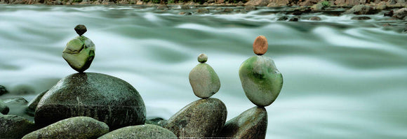 Stones by Ron Watts - 13 X 38