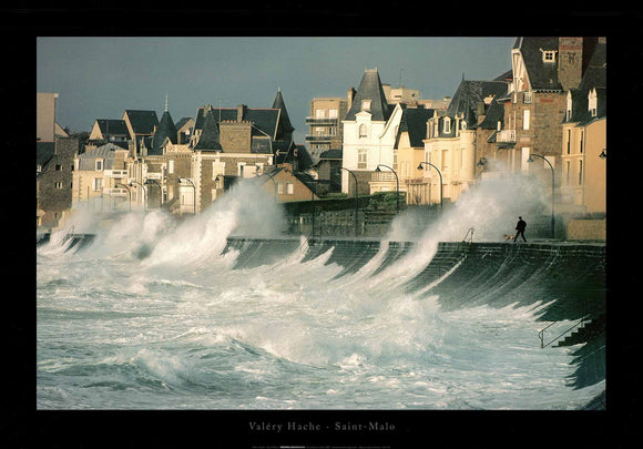 Saint-Malo by Valéry Hache - 20 X 28 Inches (Poster)