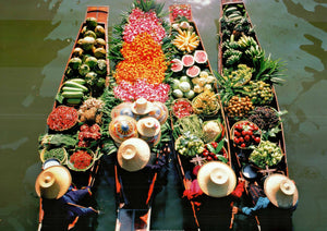 "Fruits/ Veggies/ Flowers by Bavaria - 20 X 28"" - Fine Art Poster."