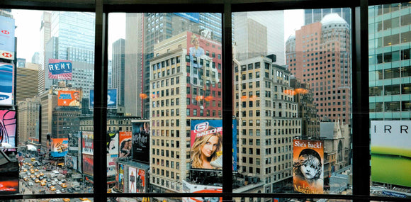 Times Square, N.Y. by Torsten Andreas Hoffmann - 20 X 40