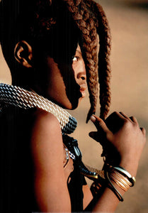 "Young Himba Girl, Namibia by Winfried Wisniewski - 20 X 28"" - Fine Art Poster."