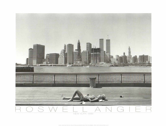 New York, 1986 by Roswell Angier - 20 X 26 inches (Poster)