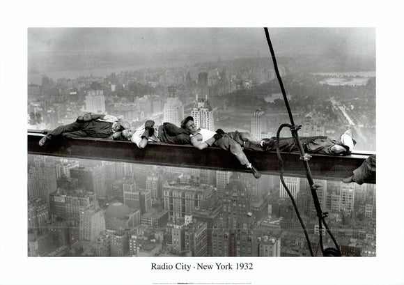 Radio City New York, 1932  - 20 X 28 Inches - Fine Art Poster.