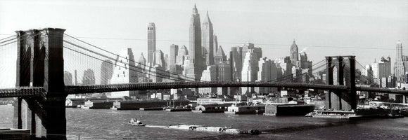New York, 1953 by Emil Schulthess - 13 X 38