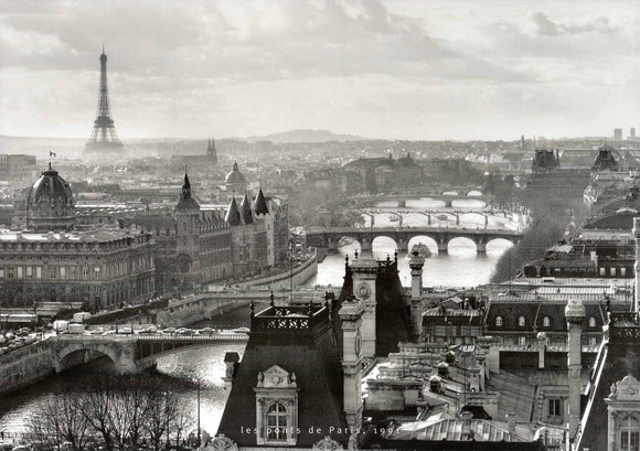Bridges of Paris, 1991 by Peter Turnley - 20 X 28