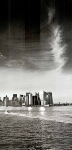 "View to downtown Manhattan from State Island Ferry by Torsten Andreas Hoffmann - 20 X 40"" - Fine Art Poster."
