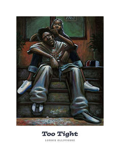 "Too Tight by Lonnie Ollivierre - 22 X 28"" - Fine Art Poster."