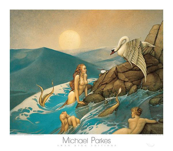 Dragon Fly by Michael Parkes - 28 X 32