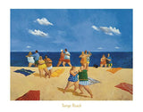 "Tango Beach by Michael Paraskevas - 22 X 28"" - Fine Art Poster."