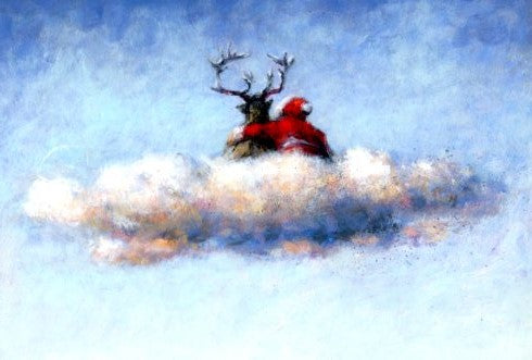 Heavenly Xmas by Peter Wever - 5 X 7 Inches (Greeting Card)