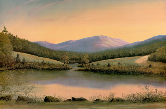 Majestic Landscape I by Robert Duff - 24 X 36 Inches - Fine Art Poster.