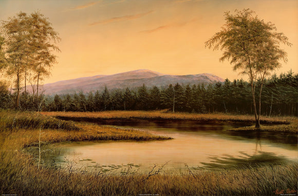 Majestic Landscape II by Robert Duff - 24 X 36 Inches - Fine Art Poster.