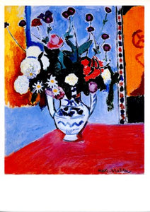 Vase with Two Handles, 1907 by Henri Matisse - 5 X 7 Inches (Greeting Card)