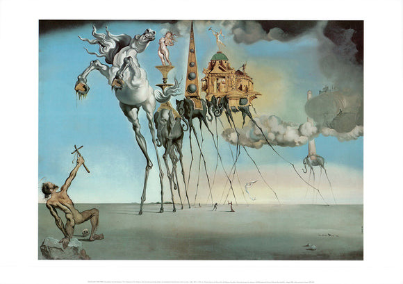 The Temptation of St. Anthony, 1946 by Salvador Dali - 20 X 28