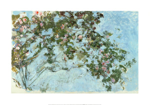 Roses, 1925-1926 by Claude Monet - 20 X 28 Inches (Poster)