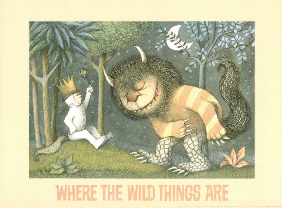 Where the Wild Things Are by Maurice Sendak - 18 X 24