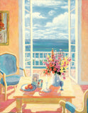 Ocean  Breeze by Suzanne Hoefler - 22 X 28 Inches - Fine Art Poster.