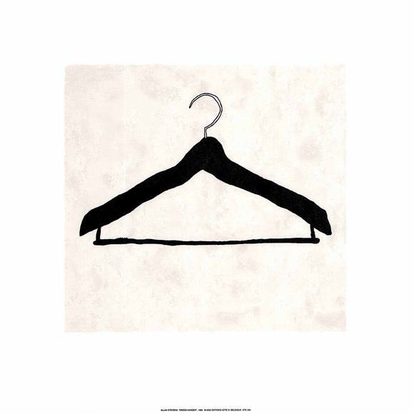Dress-Hanger, 1999 by Allan Stevens - 20 X 20