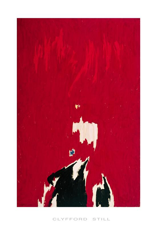 Clyfford Still - Untitled / Sans Titre, 1964 (Silkscreen / Serigraph)