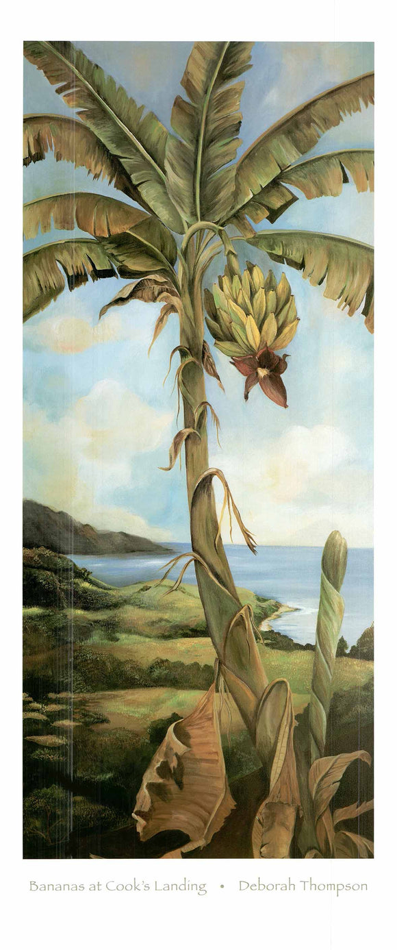 Bananas at Cook's Landing by Deborah Thompson - 17 X 39