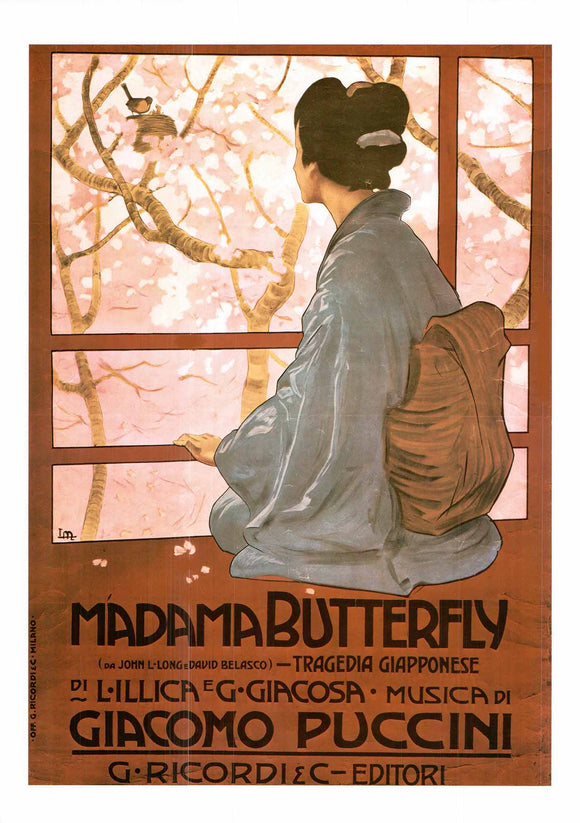Madama Butterfly by Giacomo Puccini - 20 X 28