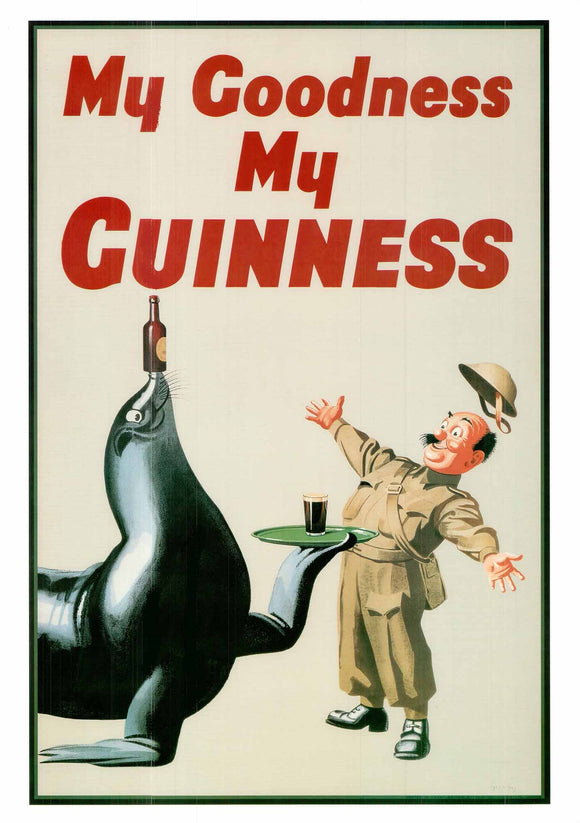 My Goodness My Guinness by Gilroy - 20 X 28