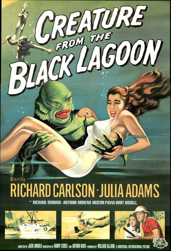 Creature from the Black Lagoon - 24 X 36