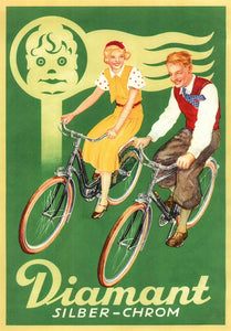 Diamant Bike Poster - Germany, 1935