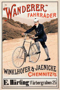 Advertising, Bicycle, Wanderer Fahrräder, 1910