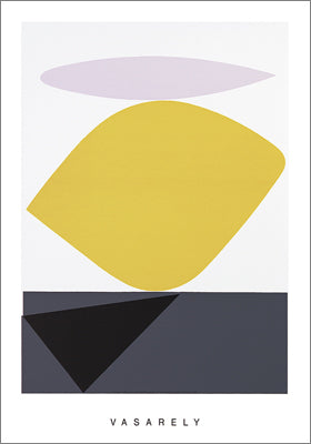 Souzon by Victor Vasarely - 28 X 40 Inches - (Silkscreen / Sérigraphie)