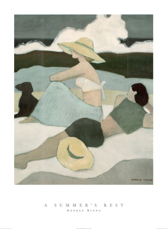 Summer's Rest by George Xiong- 24 X 32