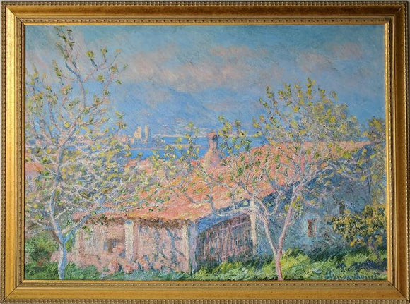 Gardener's House at Antibes - (Framed Giclee on Masonite Ready to Hang)