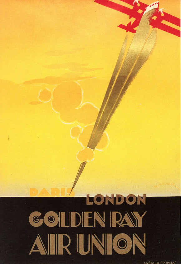 Paris, London, Golden Ray Air Union