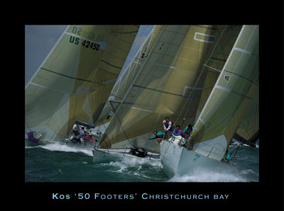Kos - 50 Footers, Christchurch Bay, The Solent