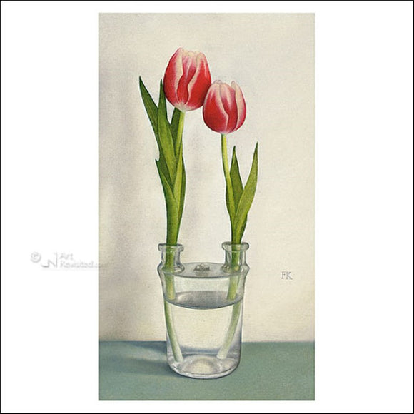 Tulip glass by Frans Klerkx - 6 X 6