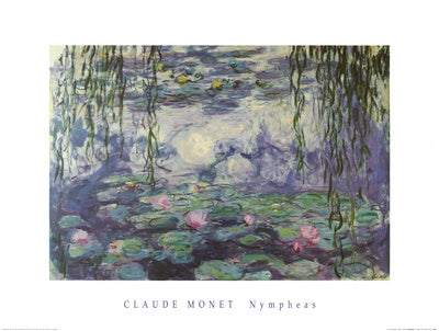 Nympheas by Claude Monet - 24 X 32