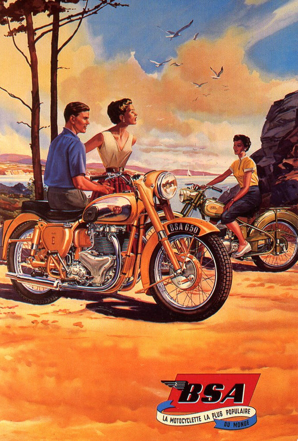 BSA, The World's most Popular Motorcycle