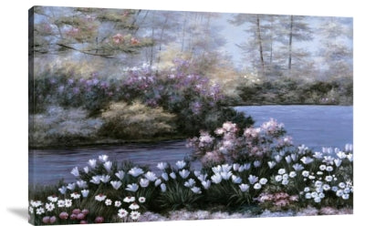 Blooming Isle - (Giclee Canvas Ready to Hang)