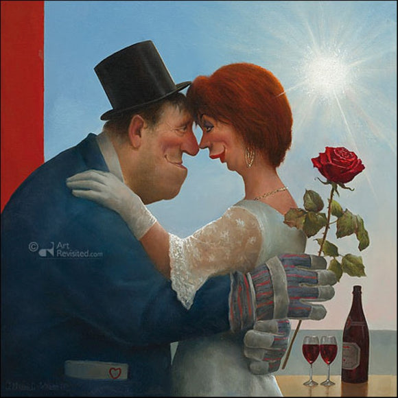 The farmer is getting married by Marius van Dokkum - 6 X 6