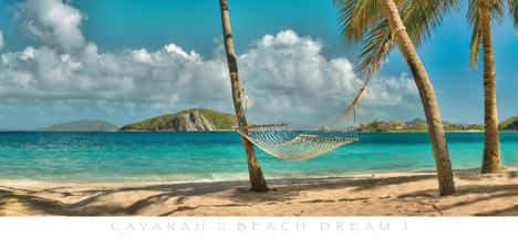 Beach Dream I by Doug Cavanah - 22 X 48 Inches (Art Print)
