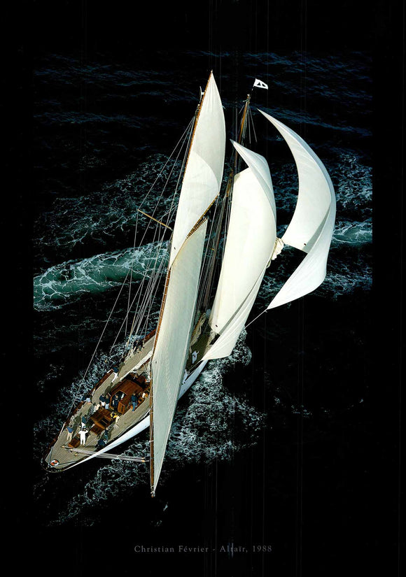 Altair, 1988 by Christian Février - 20 X 28 Inches (Art Print)