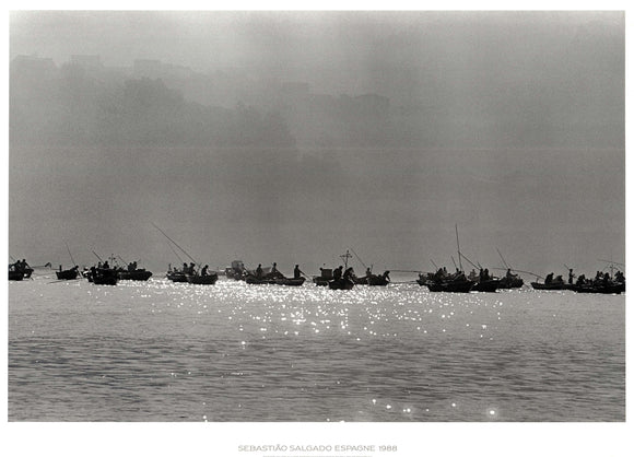 Spain, 1988 by Sebastiao Salgado - 34 X 47 Inches - Fine Art Print.
