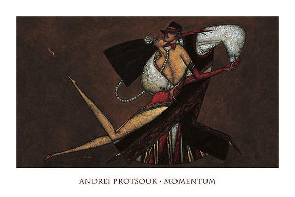 Momentum by Andrei Protsouk - 24 X 36 Inches (Art Print)