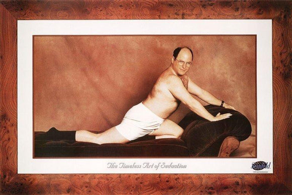 The Timeless Art of Seduction (Seinfeld) - 24 X 36 Inches (Art Print)