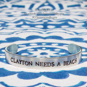 CLAYTON NEEDS A BEACH