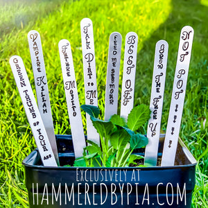 PLANT MARKERS! *NEW*