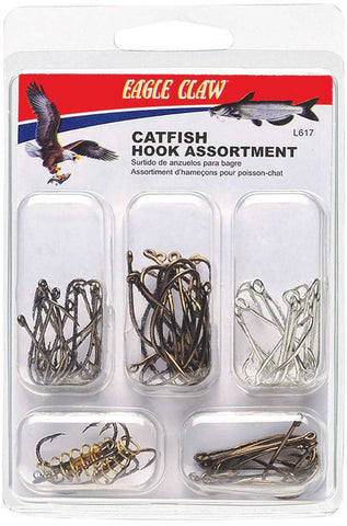 Eagle Claw Catfish Hook Assortment - Fishing Supercenter