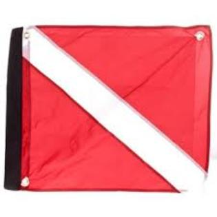 Marine Sports Deluxe Dive Flag - Fishing Supercenter