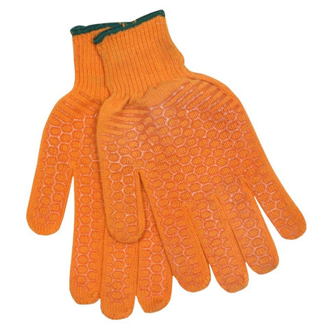 Calcutta Men's Orange String Knit Gloves - Fishing Supercenter